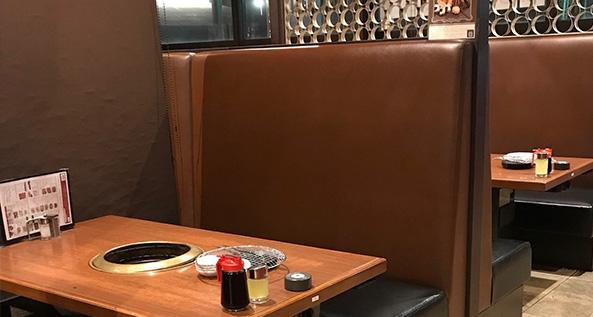 焼肉食べ放題ブイブリアン 安積店 ボックスシート